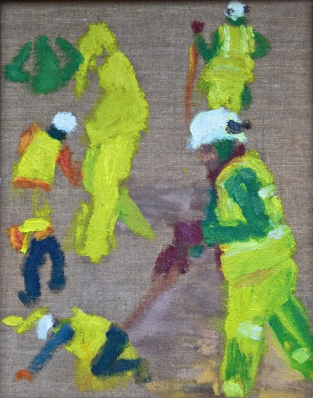 Workmen sketch 3 - Art by Ruth Helen Smith