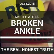 broken an