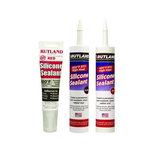 76RT, 76R, 76B RUTLAND® 600F RTV High Heat Silicone Sealant