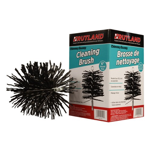 16906 RUTLAND® Chimney Sweep® Round Poly Cleaning Brush
