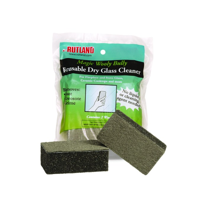 88 RUTLAND® Magic Wooly Bully Dry Glass Cleaner