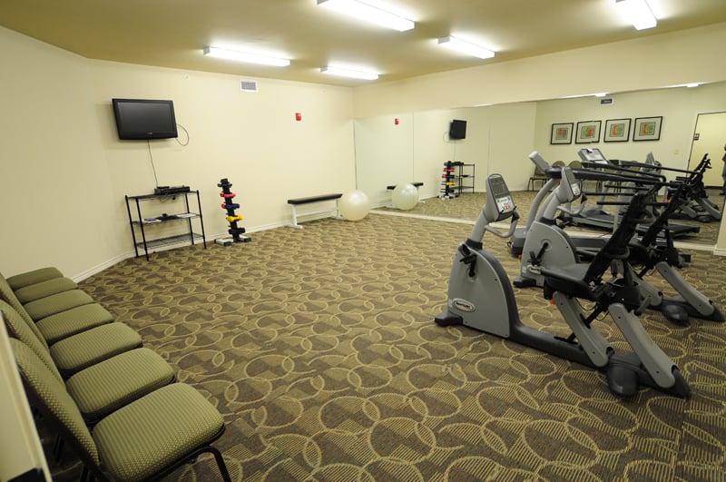 Exercise Room at senior living community