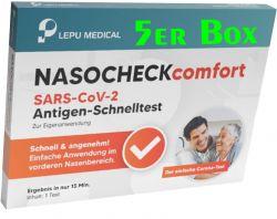 Das testset enthält alles, was sie benötigen. Lepu Self Test 5 Pcs Box Lepu Medical Technology Rutronik24 Distributor