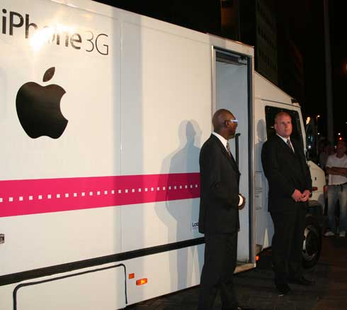 iPhone 3g launch