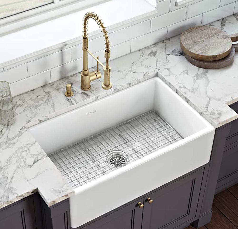 rvl2300wh fireclay kitchen sink