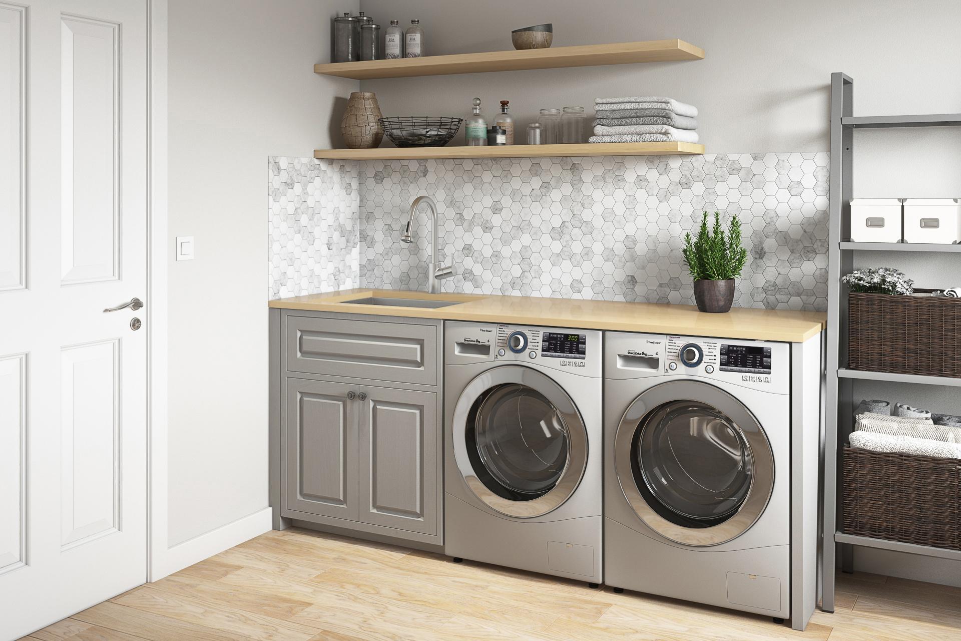24 x 18 x 13 deep laundry utility