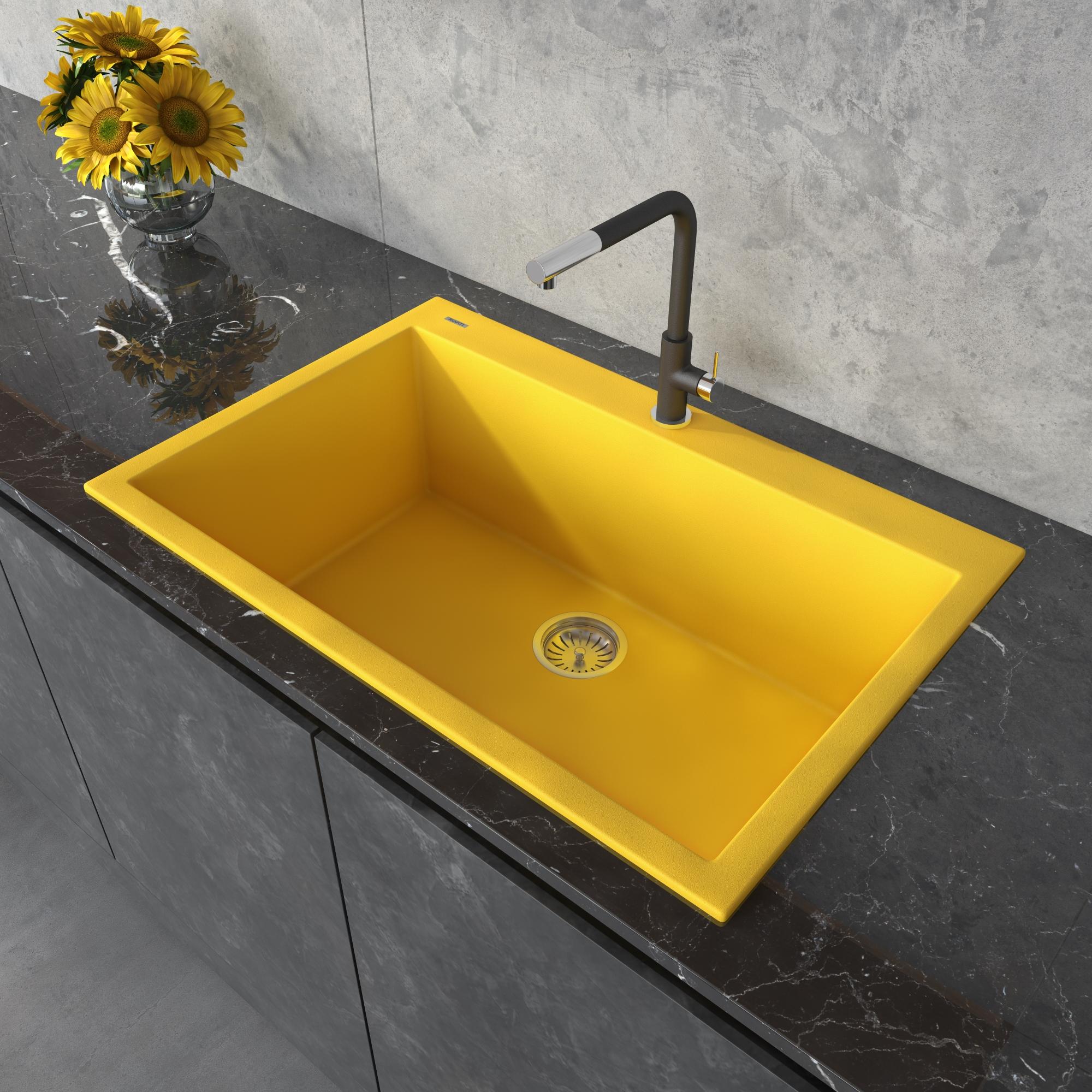 topmount kitchen sink single bowl