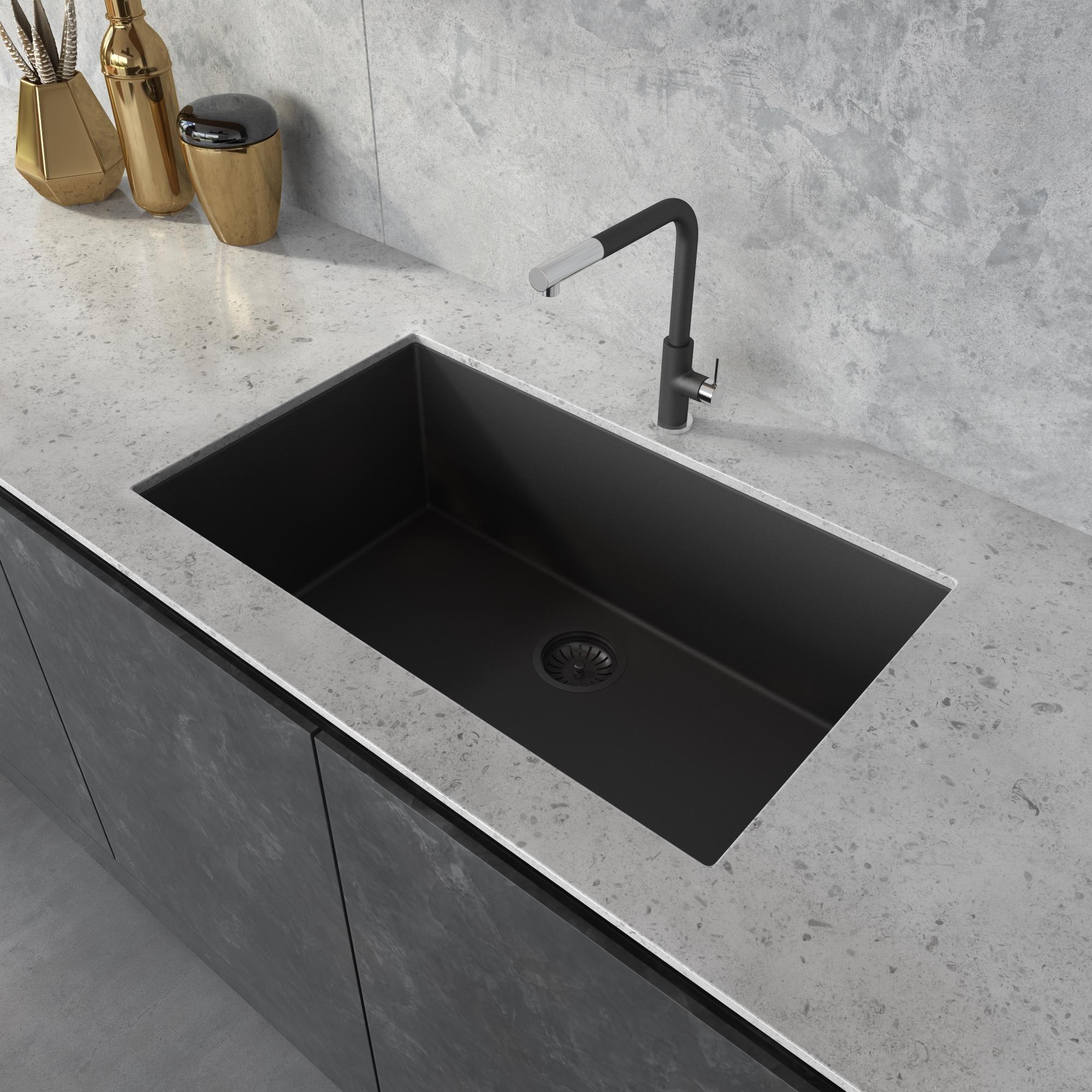 30 x 17 inch granite composite