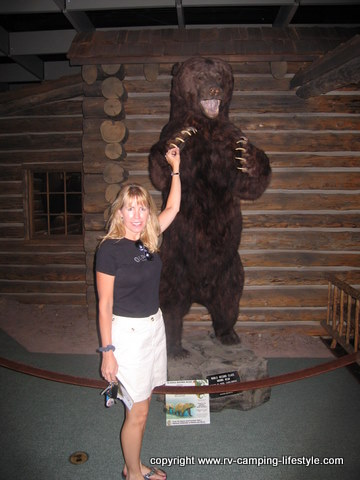 yellowstone rv camping, buffalo bill museum