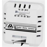 ATWOOD HYDROFLAME FURNACE THERMOSTAT, WHITE