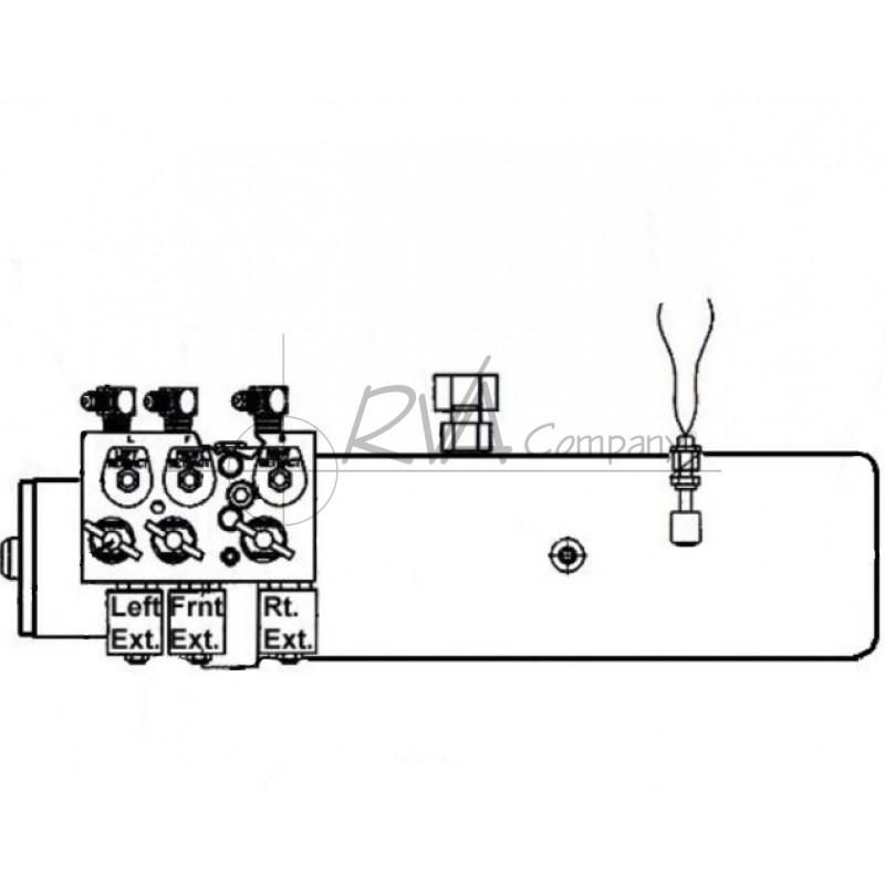 RVA Hydraulic Pump Assembly (W/O Manifold Assem)