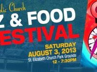St. Elizabeth Catholic Church Jazz & Food Festival on August 3, 2013