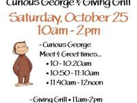 Curious George & Giving Grill Fall Kids Fest