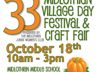 Midlothian Village Day Festival and Craft Fair: October 18