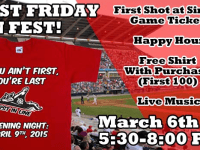 Flying Squirrels First Friday Fan Fest