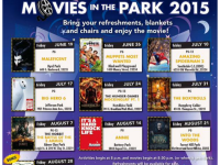 FREE Movies in the Park 2015