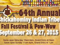 Chickahominy Fall Festival & Pow Wow