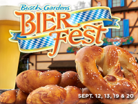 Busch Garden's Bier Fest Weekend