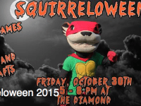 Squirreloween is Coming Soon