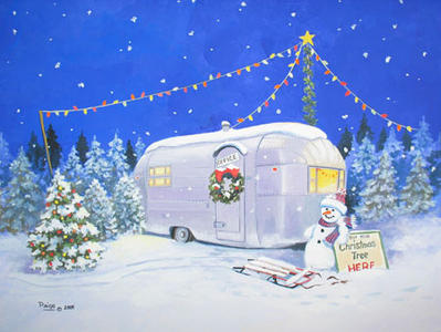 RV Christmas Tree Lot @ Lerch RV, Keystone RV, Open Range RV
