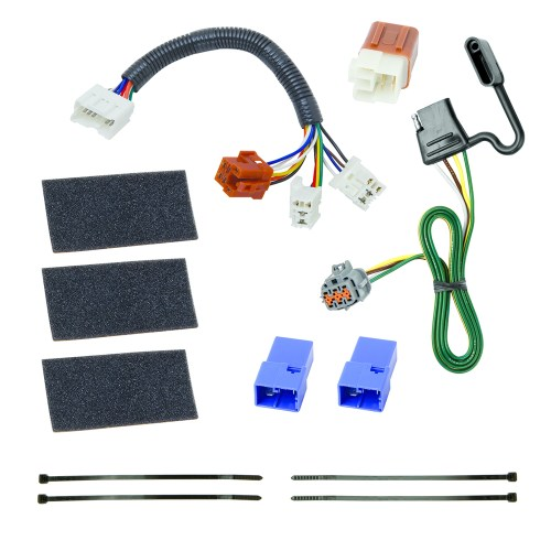 small resolution of 118525 tekonsha trailer wiring connector 4 way flat replacement for tow ready 118491 wiring tone connector trailer rv camper image may