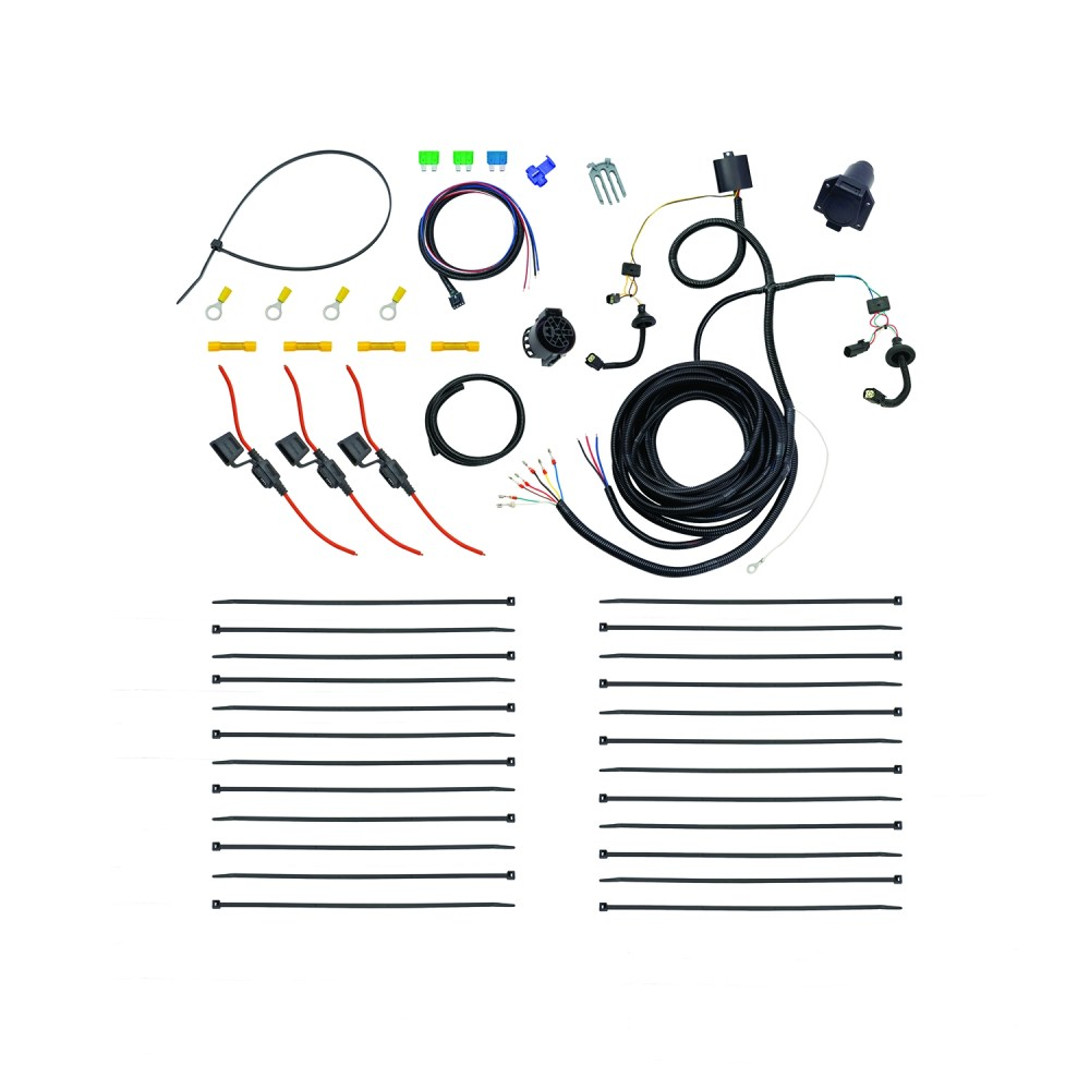 medium resolution of 22114 tekonsha trailer wiring connector oem tow package wiring harness