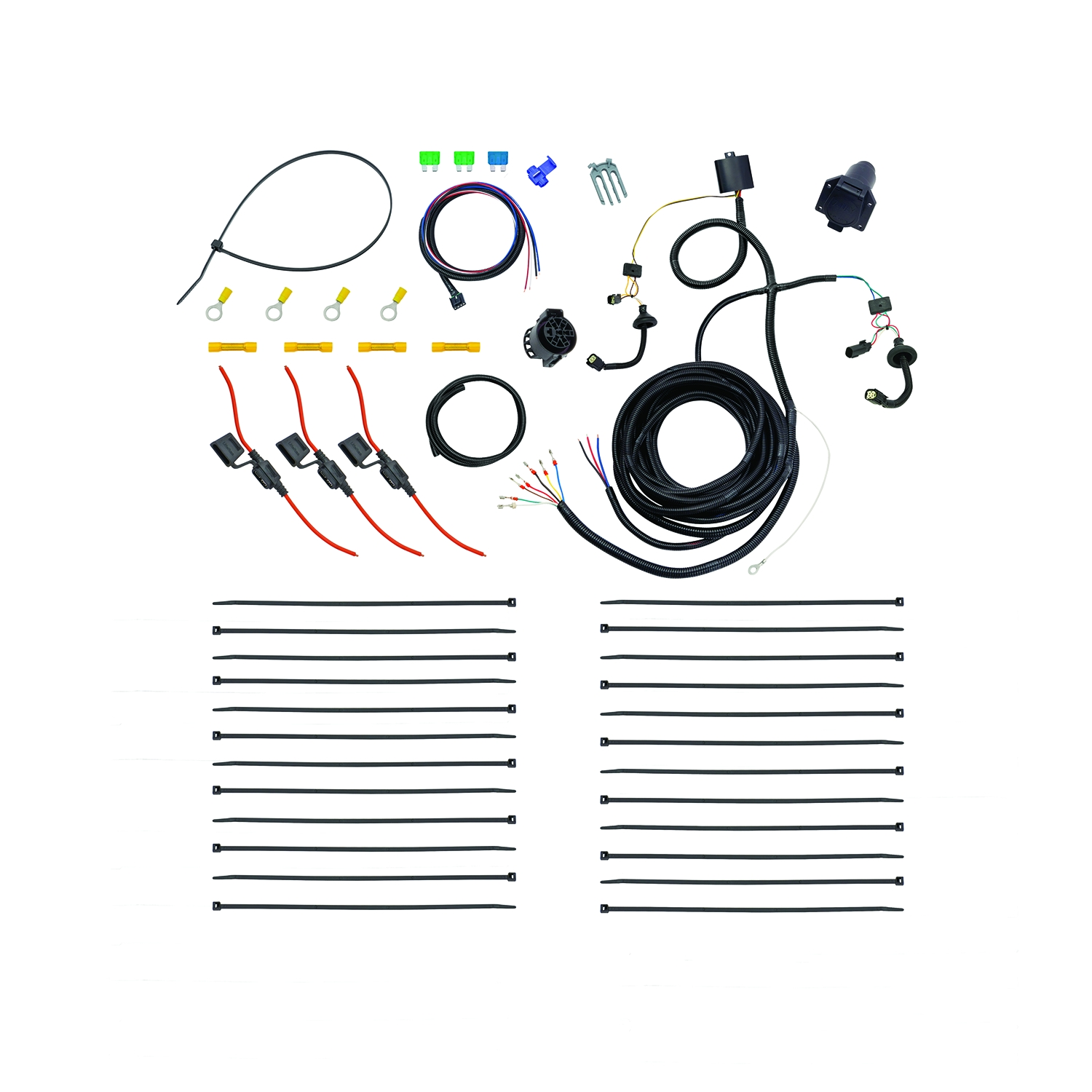 hight resolution of 22114 tekonsha trailer wiring connector oem tow package wiring harness