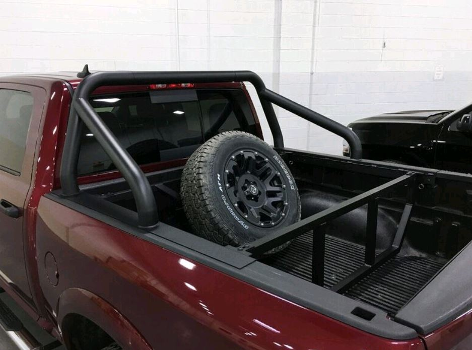 RMTC09 Motor City Aftermarket Spare Tire Carrier Truck Bed