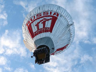 Competição Volta ao Mundo em um Balão Foi Recheada de Desafios Balonismo 2016