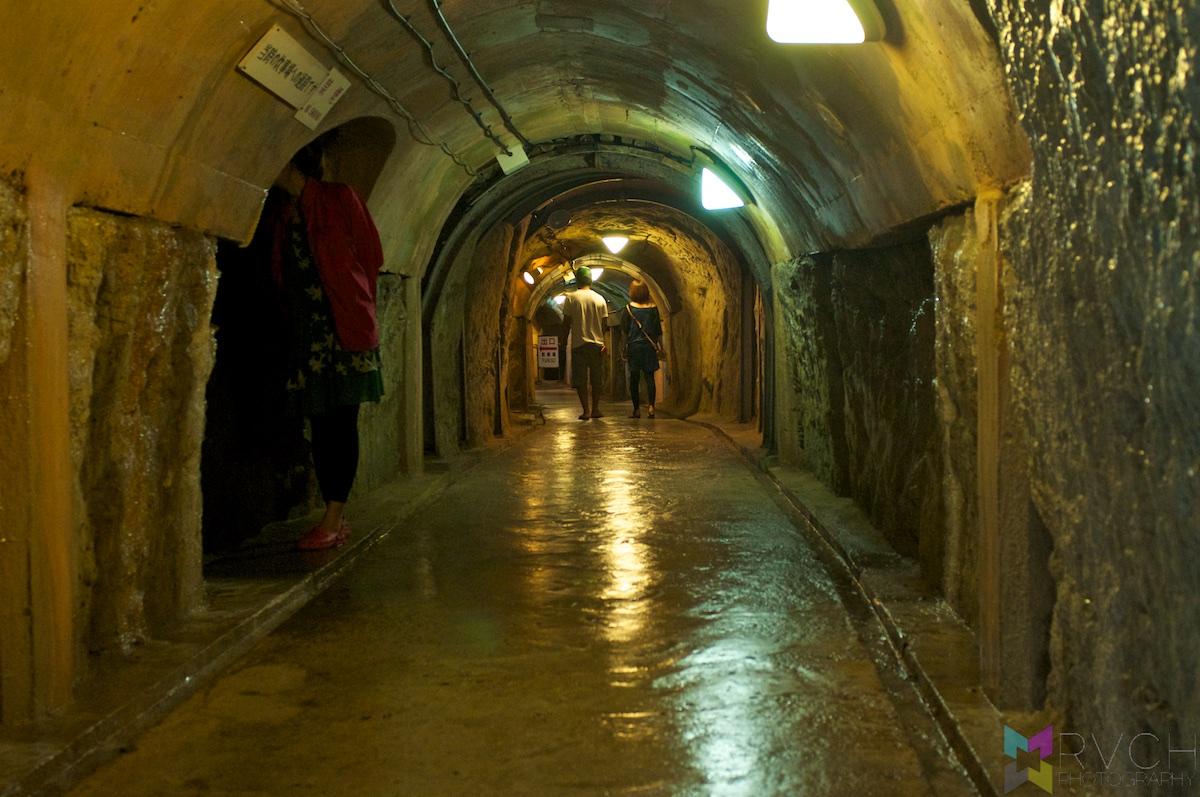 underground naval barracks