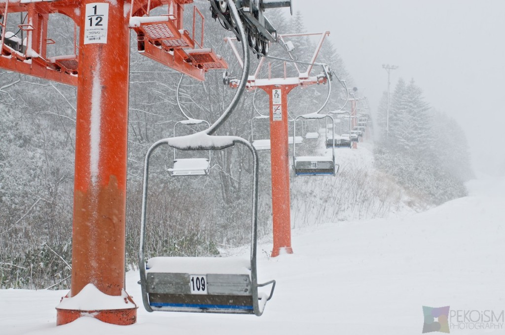 Niseko Hirafu early season