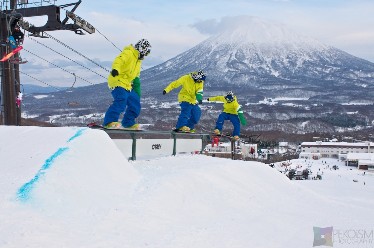 Winter Season in Hirafu, Niseko
