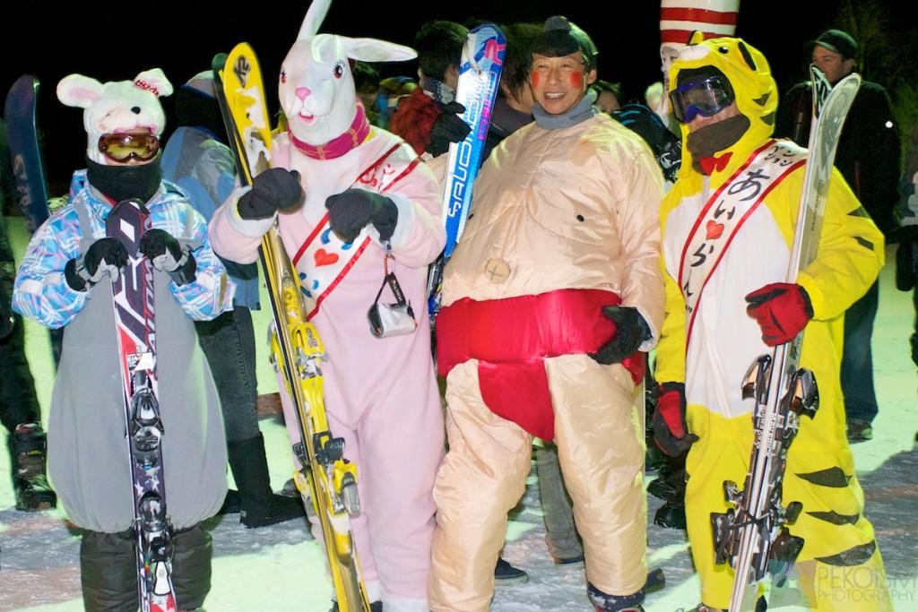 Niseko Hirafu New Years Eve