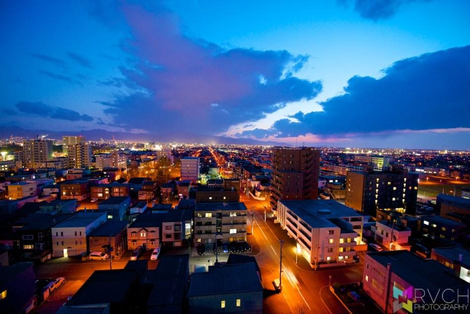 Sapporo Sunset