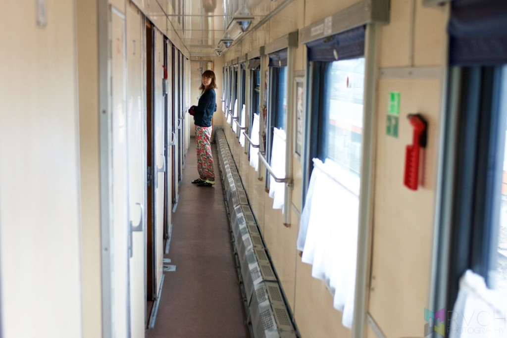 Hallway on Trans Siberia Express