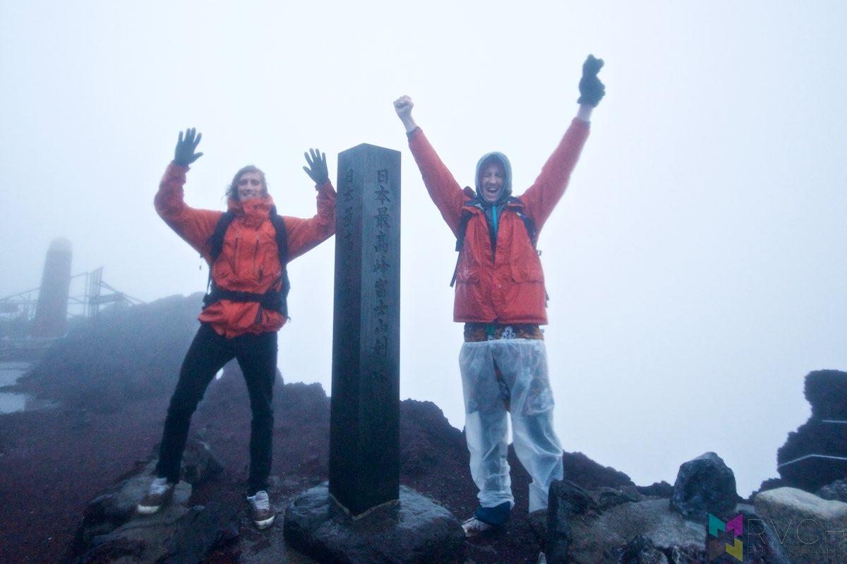 Japan - Climbing Mount Fuji