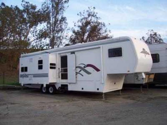 Slide Outs Travel Trailers