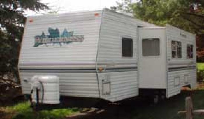 Recreational Vehicles Travel Trailers 2000 Fleetwood