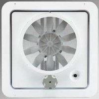 Hengs 90046-Cr Vortex II Fan Replacement Kit Upgrade Convert Non-Powered Vents