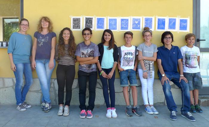 Musica e incisione laboratorio 2014, Italia.Tav. 04
