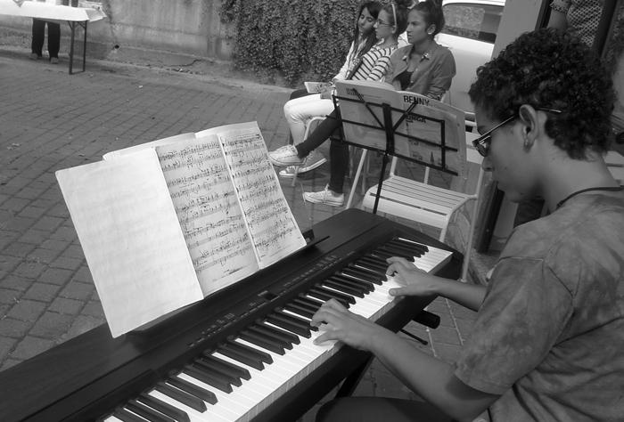 Musica e incisione laboratorio 2014, Italia.Tav. 58