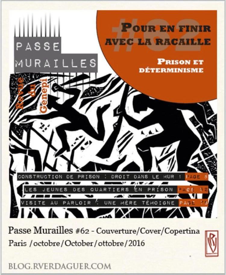 Passe Muraille # 62 - Cover [ Couverture, Copertina ]
