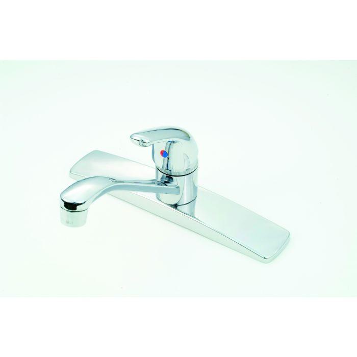 chrome rv mobile home metal single lever kitchen faucet faucet