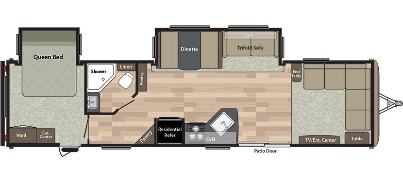 leather sofa nova scotia small modular sofas new 2019 keystone rv springdale 38fl travel trailer - erin ...