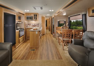 rv kitchen faucets homemade cabinets top 5 best travel trailers with slideouts | rvingplanet.com