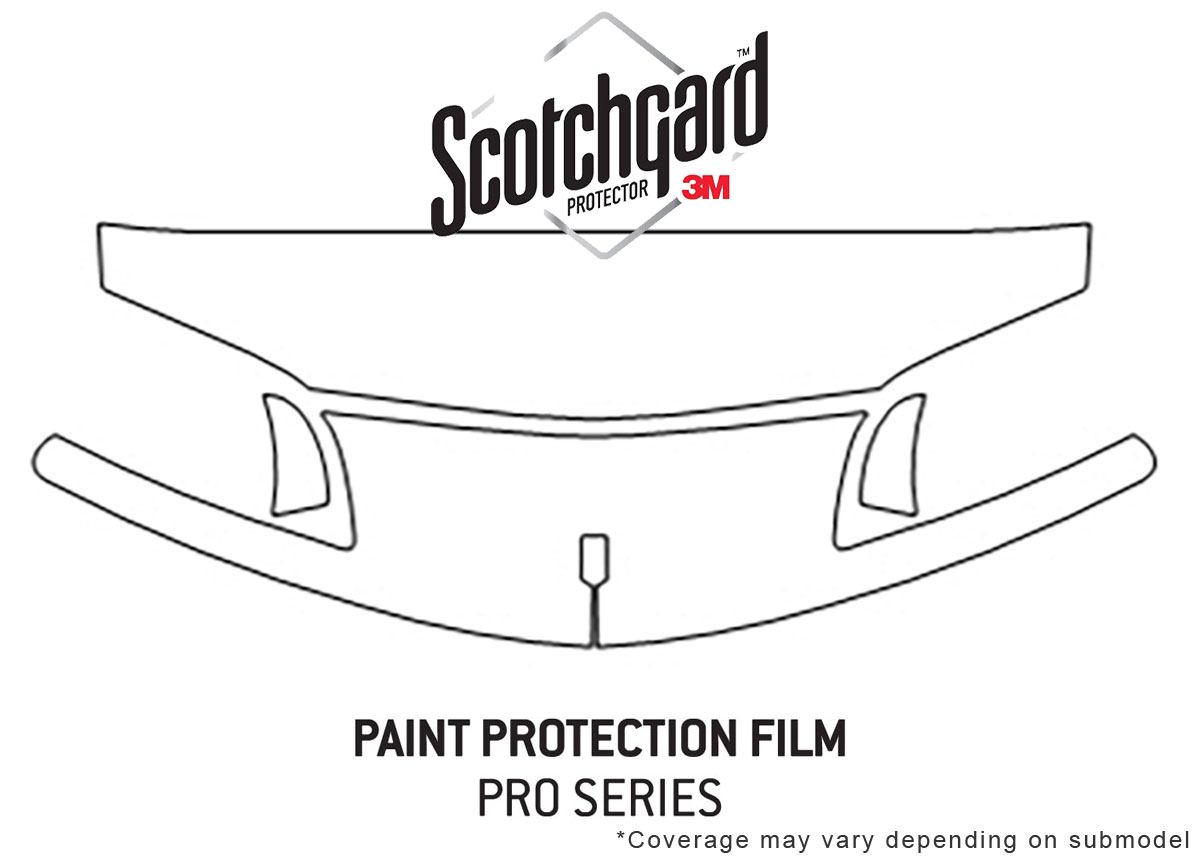 3M Pro Shield Paint Protection Kit for Chevy Camaro 1993