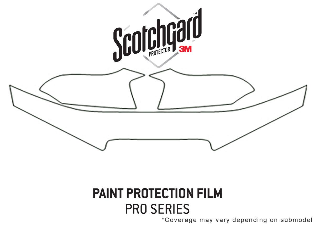 3m Pro Shield Paint Protection Kit For Hyundai Elantra