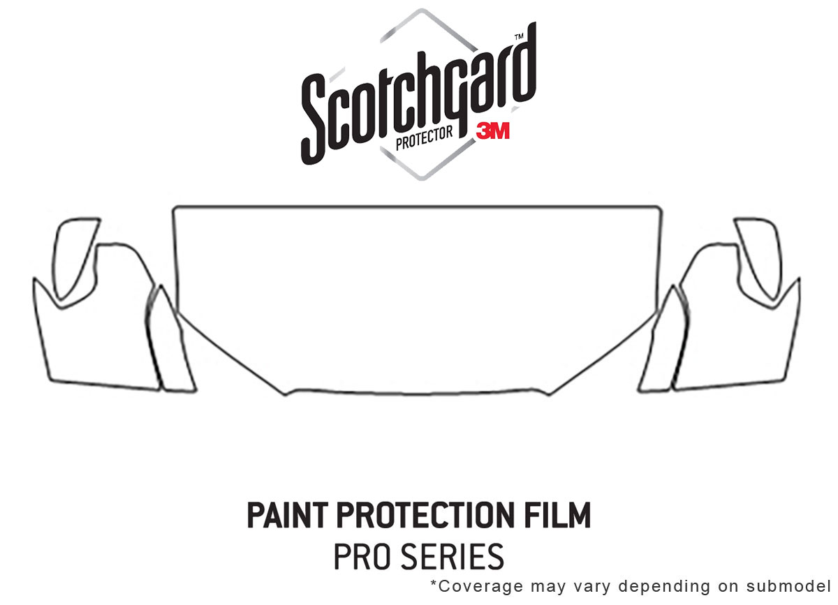 3M Pro Shield Paint Protection Kit for Toyota 4Runner 2014