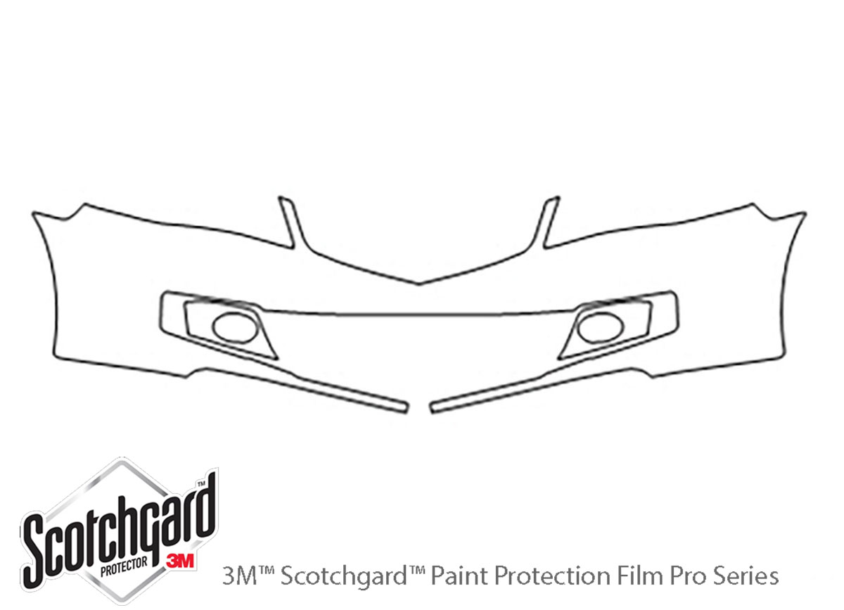 3M™ Acura TSX 2006-2008 Bumper Paint Protection Kit