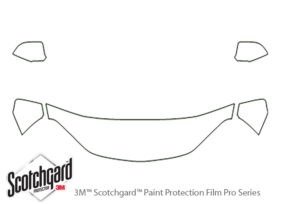 3M™ Chevrolet Equinox 2005-2009 Hood Paint Protection Kit